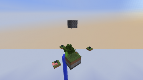Screenshot for TheVerticalSkyblock