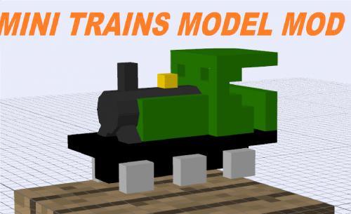 Screenshot for Mini Train Model Mods 1.10.2