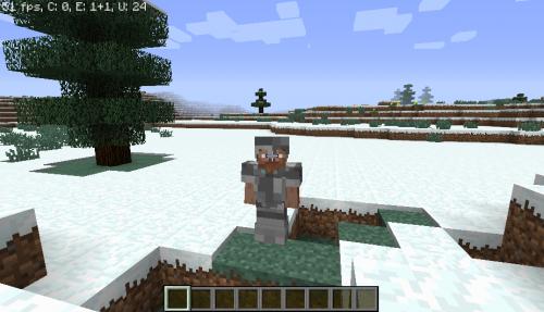 Screenshot for Cobblestone armor mod 1.7.10